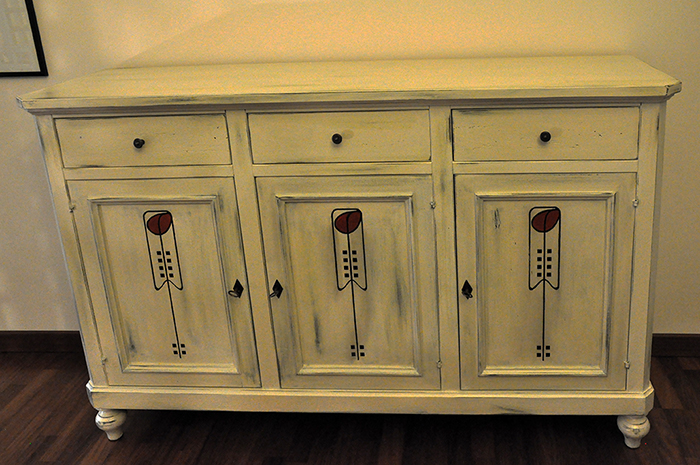 decorazione mobile shabby mackintosh 40